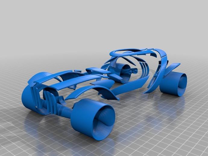 概念式超级跑车