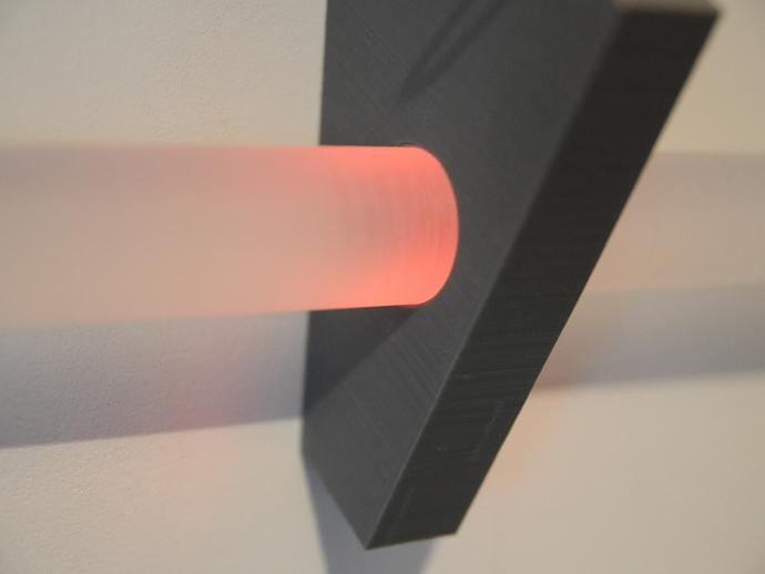 光剑墙壁固定座 3D打印模型渲染图