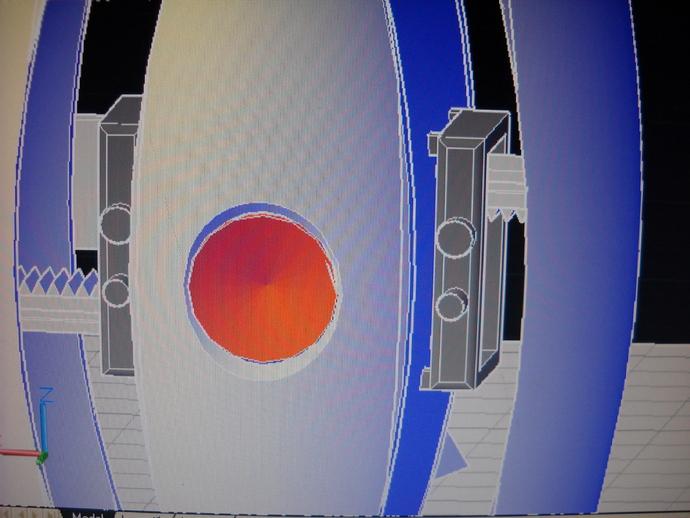传送塔 游戏造型 3D打印模型渲染图