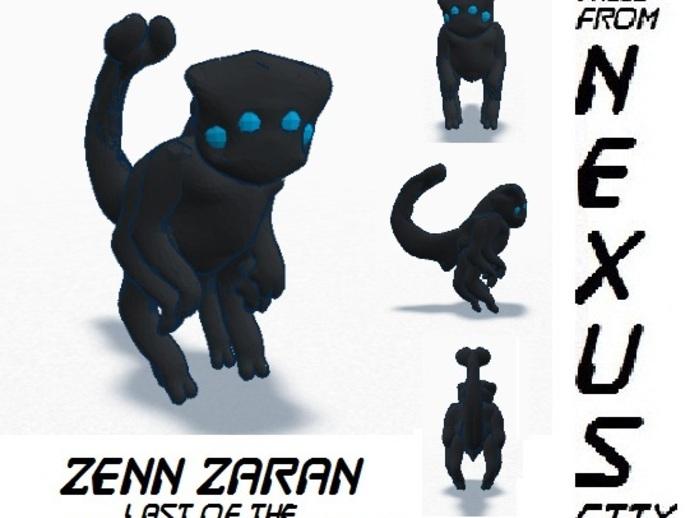 小黑猫战士