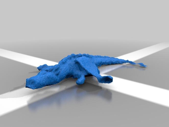 火龙 3D打印模型渲染图