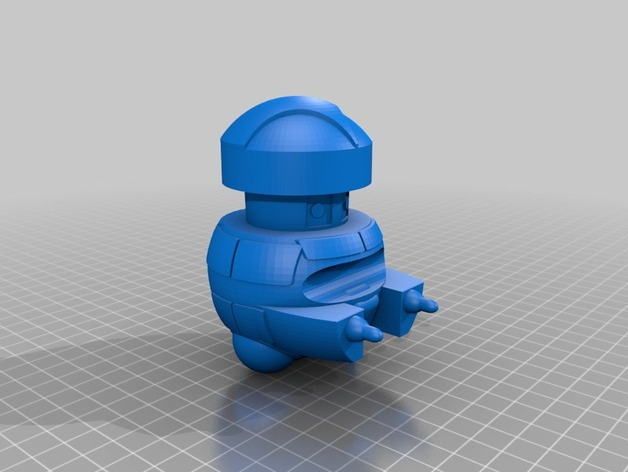 Vincent机器人 3D打印模型渲染图
