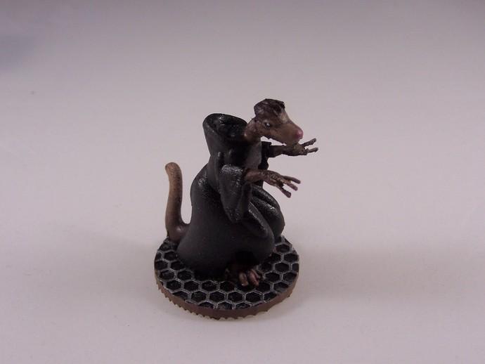 人马巫师 3D打印模型渲染图