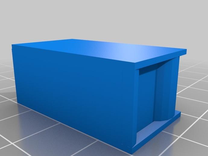 民用房屋  3D打印模型渲染图
