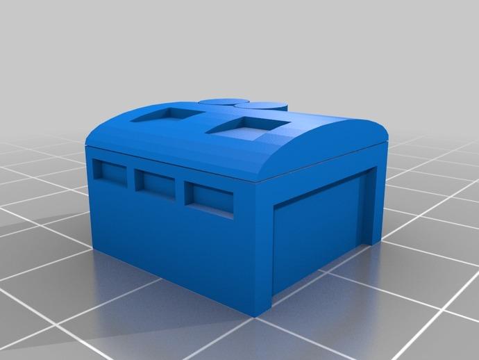 车间 工作室模型 3D打印模型渲染图