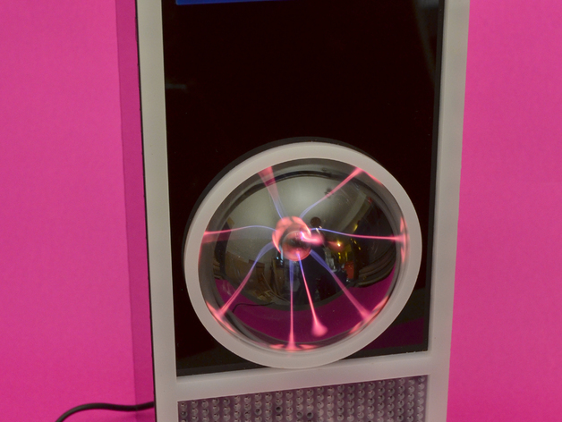 HAL 9000等离子球 监视球 3D打印模型渲染图