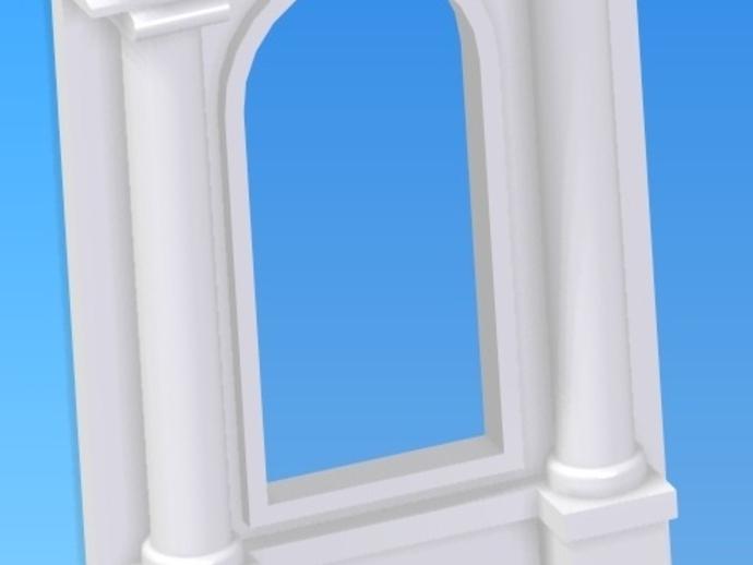 窗户 梁柱