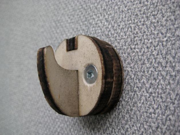 钩子 墙壁挂钩 3D打印模型渲染图