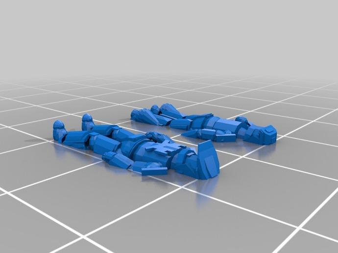 光晕 斯巴达战士  3D打印模型渲染图