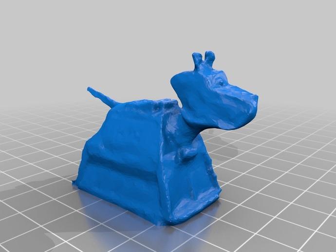 K-9小狗机器人 3D打印模型渲染图
