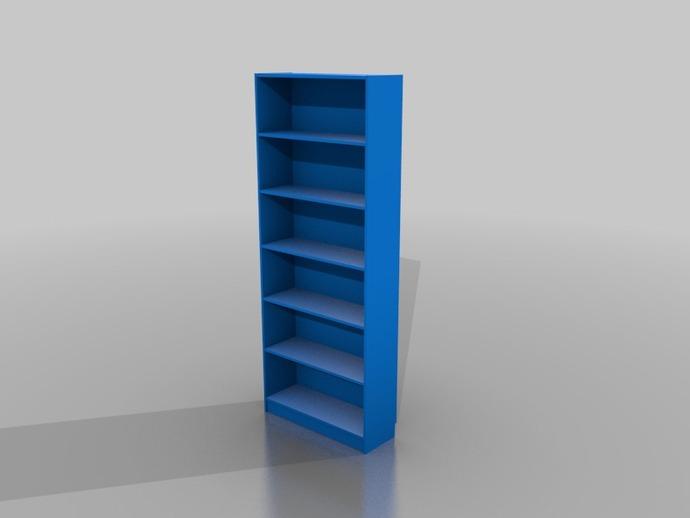 比利书柜 书橱 3D打印模型渲染图