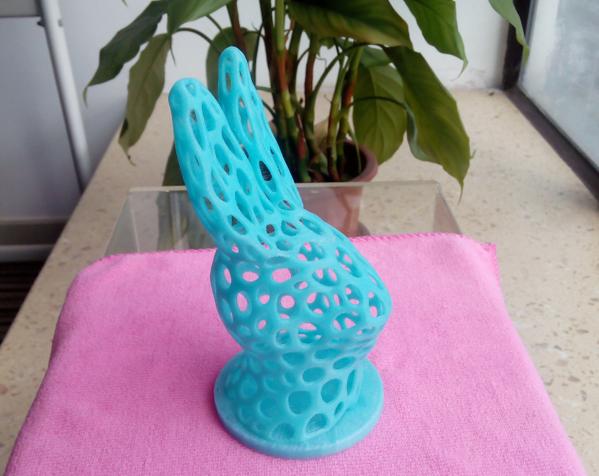 兔子头 3D打印图片