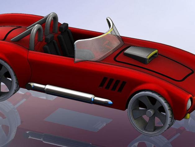 1967年款Shelby Cobra眼镜蛇跑车