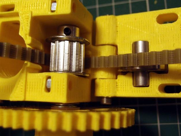 3D打印机通用膏糊挤压机