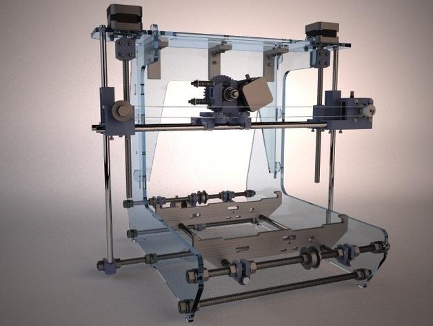 Prusa Air 2 打印机 3D打印模型渲染图