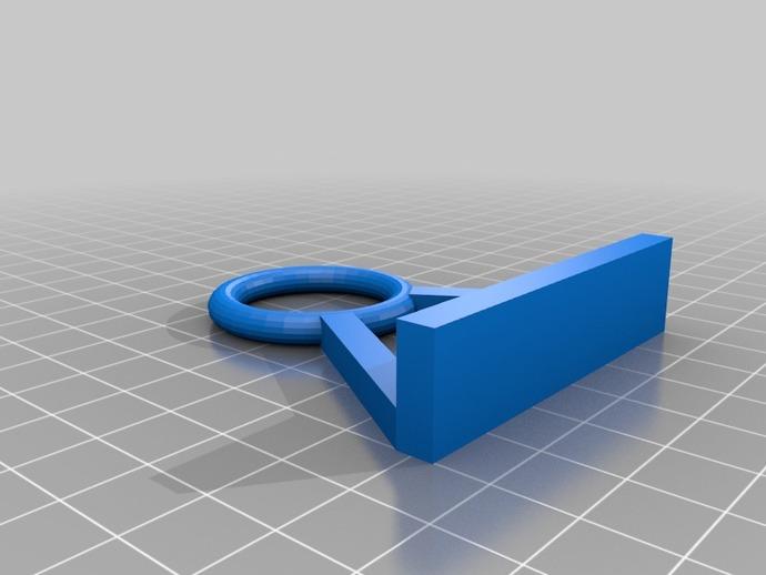 3D打印机线缆收纳架
