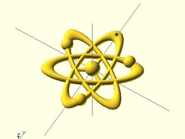 科学元素 项链