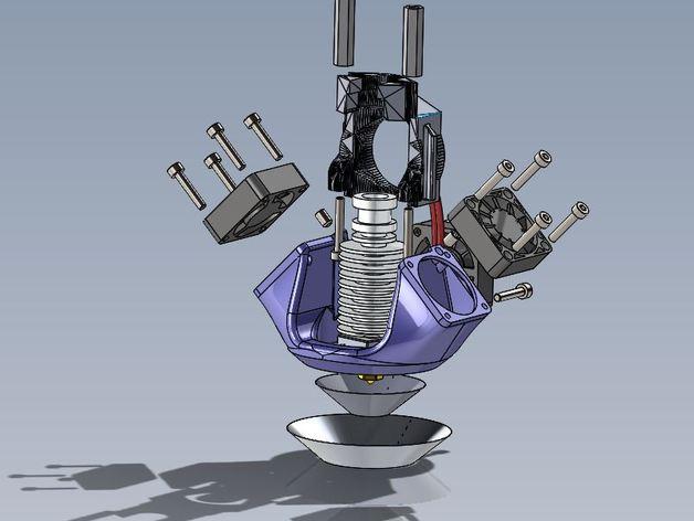 K8200 E3D环式冷却机