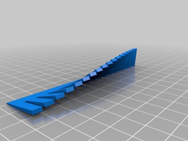 ABS/PLA 3D打印模型角度测试