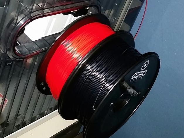 三纬国际Da Vinci 1.0 3D打印机线轴 3D打印模型渲染图