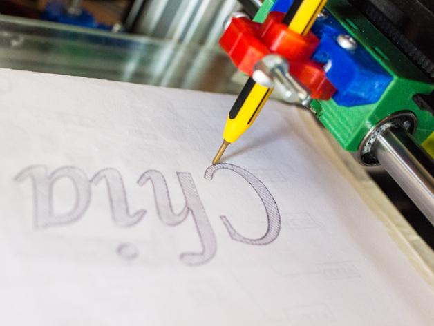 2D草绘器 3D打印模型渲染图