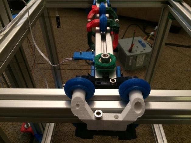 改良版Core-T 3D打印机