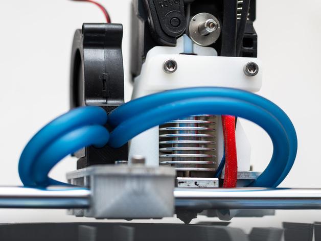 RigidBot E3D挤出机接口/支架 3D打印模型渲染图