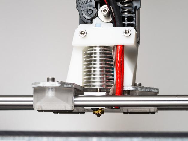 RigidBot E3D挤出机接口/支架