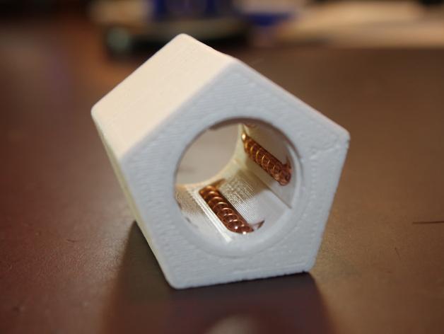 16毫米管状线性轴承 3D打印模型渲染图
