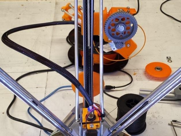 Cherry Pi 3D打印机线轴架/布线环