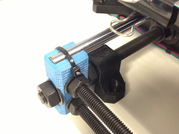 Prusa i3 Hephestos 3D打印机扣件 3D打印模型渲染图