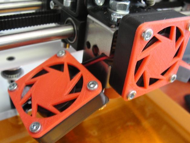 CraftBot 3D打印机风扇外壳 3D打印模型渲染图