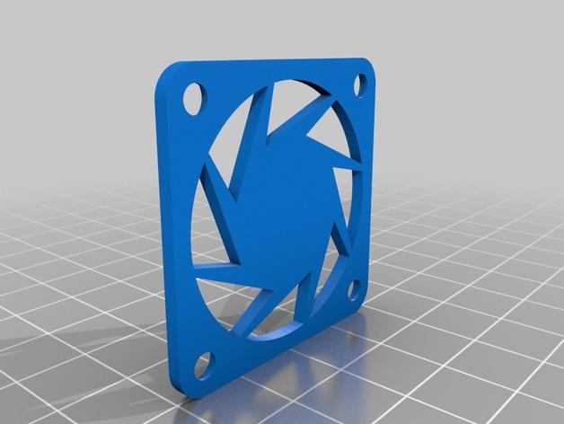 CraftBot 3D打印机风扇外壳