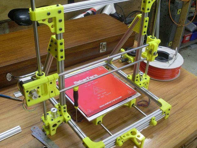 OB1.4 3D打印机 3D打印模型渲染图