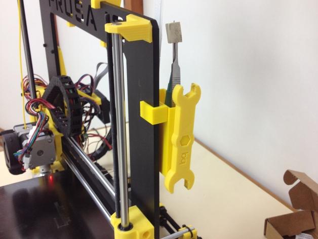 Prusa i3 Hephestos 3D打印机工具盒 3D打印模型渲染图