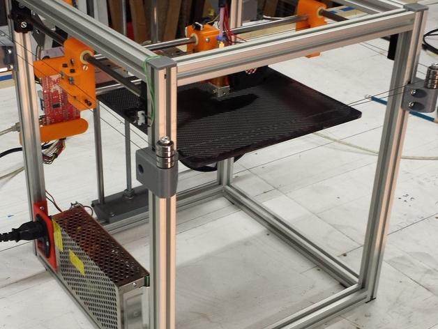 PrntQB V2 3D打印机 3D打印模型渲染图