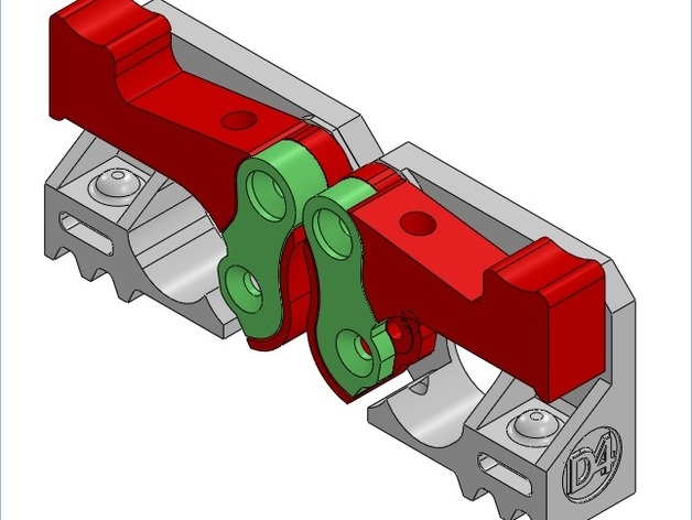 Mk8弹簧加压挤出机驱动装置