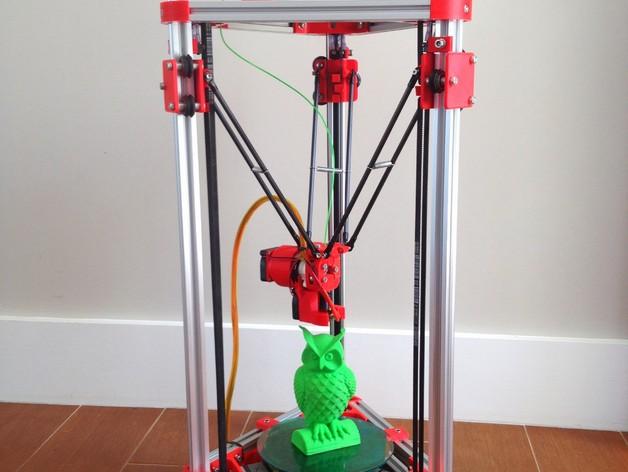 Kossel Mini 3D打印机