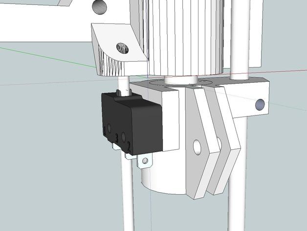 RepRap Prusa i3 3D打印机打印床校准装置