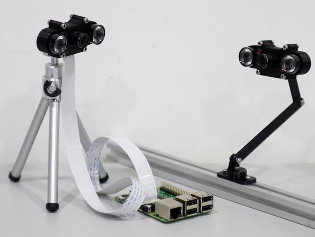 树莓派相机架
