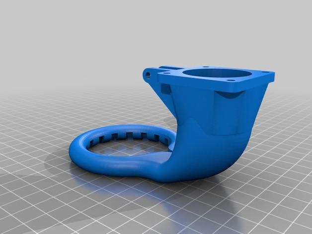 Prusa Mendel i3 3D打印机通风导管