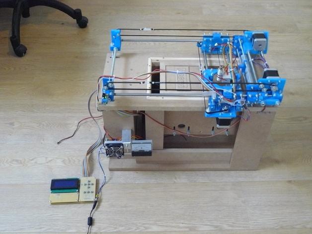 Focus SLS打印机 3D打印模型渲染图