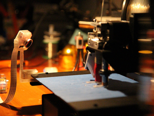 照相机底座 3D打印模型渲染图