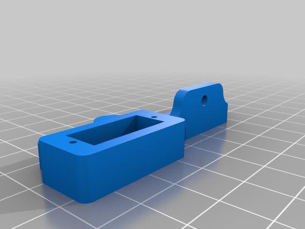 Prusa i3 3D打印机挤出机配适器
