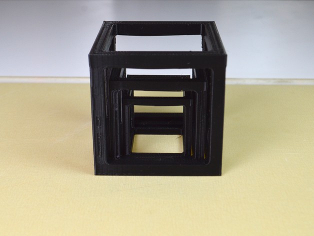 桥接测试样品 3D打印模型渲染图