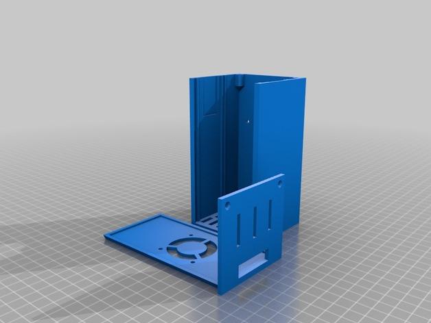 Prusa i3打印机外盒 3D打印模型渲染图