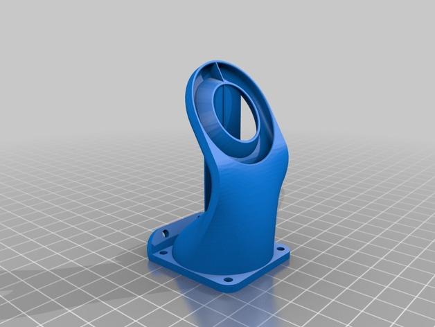 Kossel 800打印机通风导管