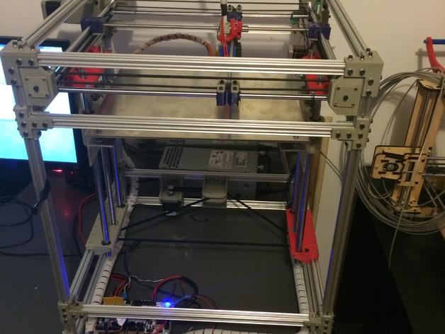 Openbeam打印机 3D打印模型渲染图