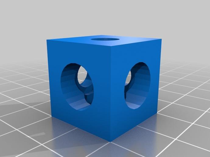 V形槽边角连接器