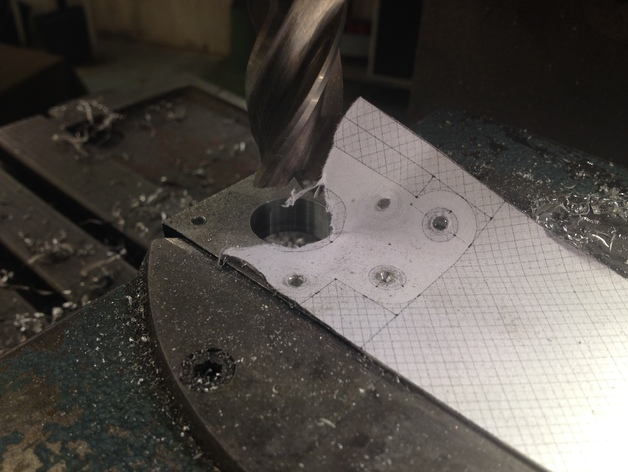 RepRap Prusa i3 打印机Y轴马达底座